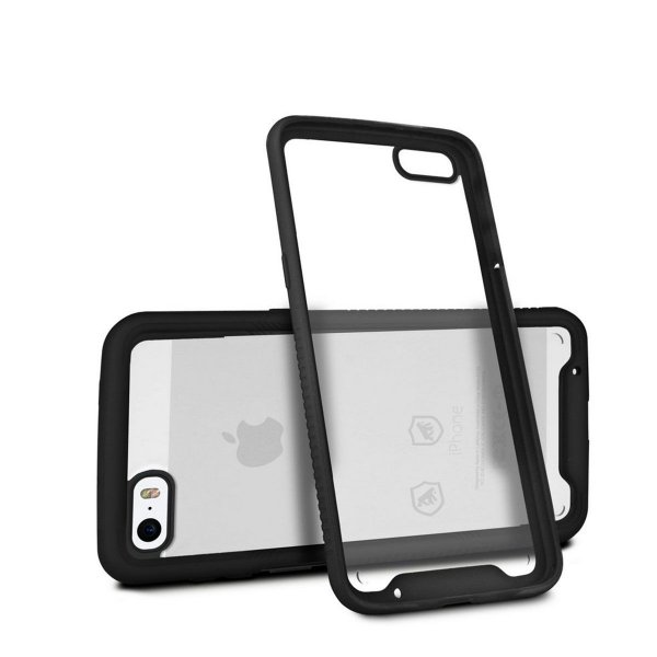Capa Stronger Preta Para iPhone 5 , 5s , Se - Gshield