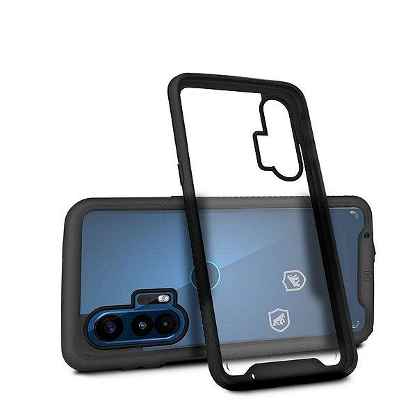 Capa Stronger Preta Para Motorola Moto Edge Plus - Gshield