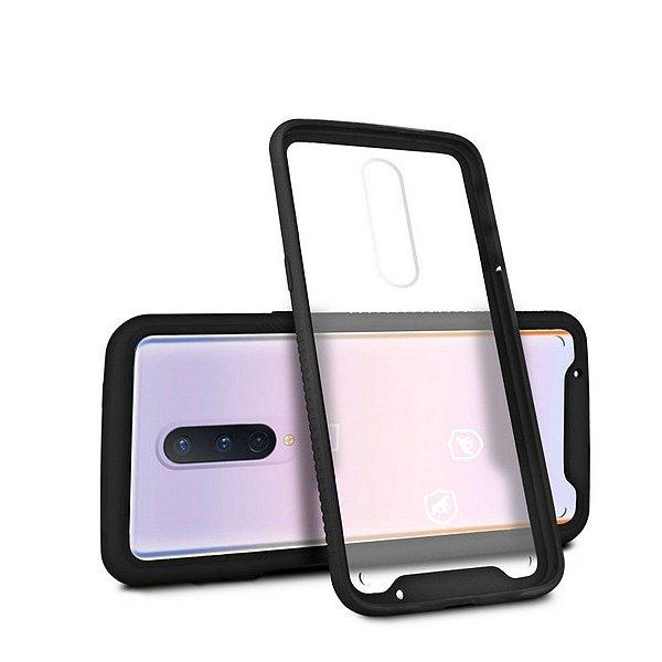 Capa Stronger Preta Para OnePlus 8 - Gshield