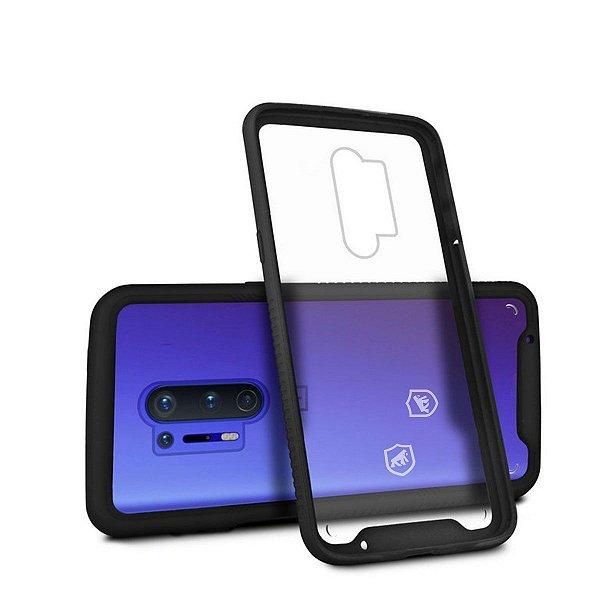 Capa Stronger Preta Para OnePlus 8 Pro - Gshield