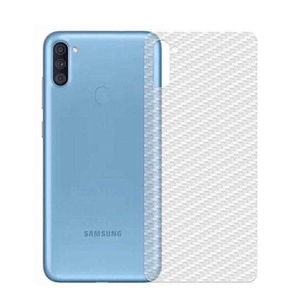 Película Traseira De Fibra De Carbono Para Samsung Galaxy A11 e Galaxy M11 - Gshield