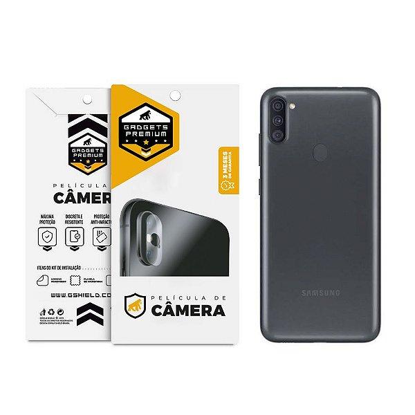 Película Para Lente De Câmera Samsung Galaxy A11 e Galaxy M11 - Gshield
