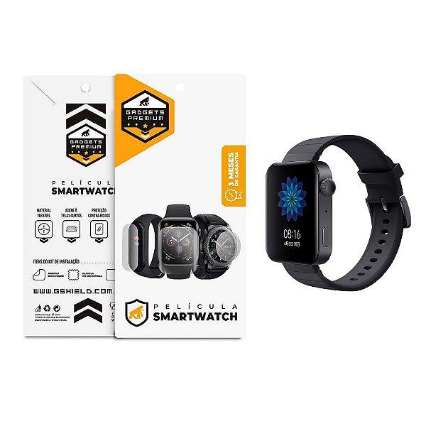 Película De Nano Gel Dupla Para Smartwatch Xiaomi Mi Watch - Gshield