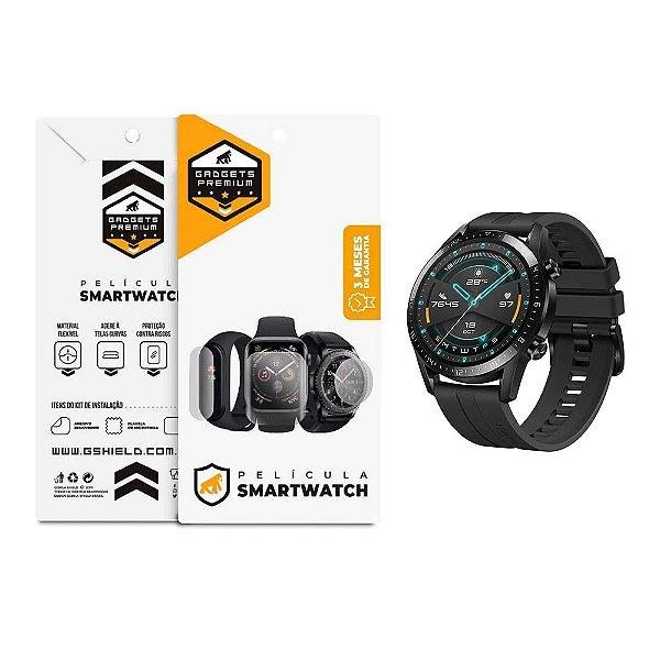 Película De Nano Gel Dupla Para Smartwatch Huawei Gt2 46mm - Gshield