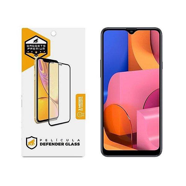 Película Defender Glass Para Samsung Galaxy A20S - Preta - Gshield