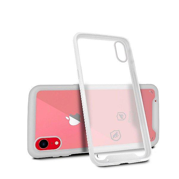 Capa Stronger Branca Para iPhone XR - Gshield
