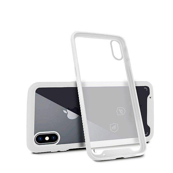 Capa Stronger Branca Para iPhone XS - Gshield