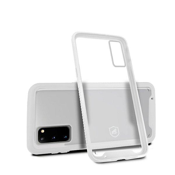 Capa Stronger Branca Para Samsung Galaxy S20 - Gshield