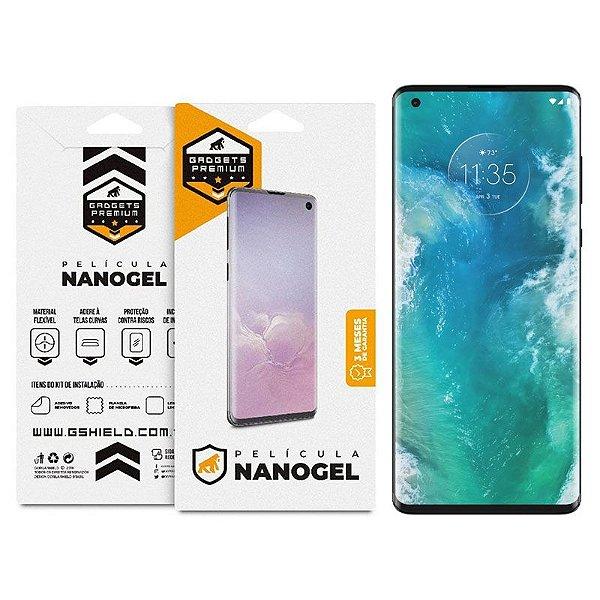 Película De Nano Gel Dupla Para Motorola Edge - Gshield