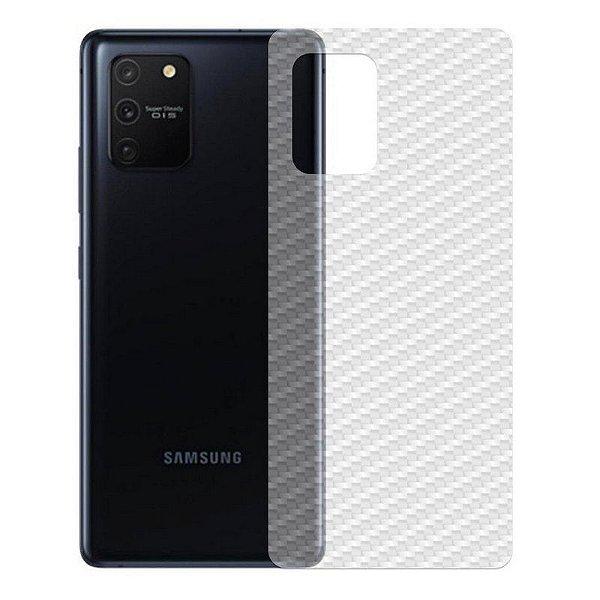 Película Traseira De Fibra De Carbono Para Samsung Galaxy A91 - Gshield