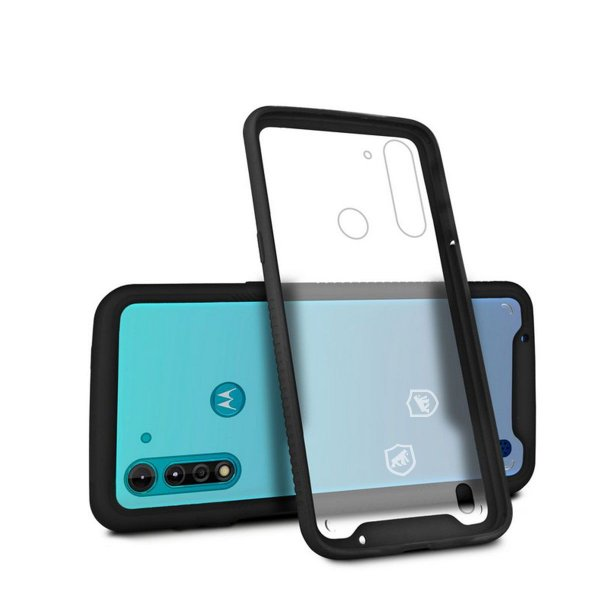 Capa Stronger Preta Para Motorola Moto G8 Power Lite - Gshield