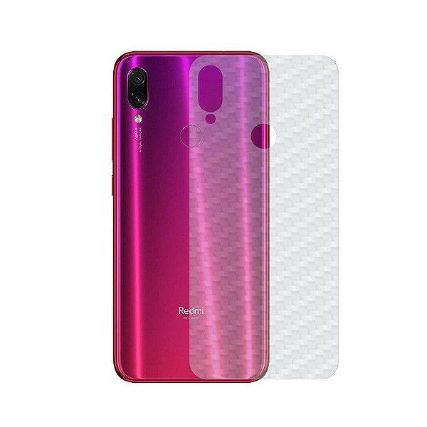 Película Traseira de Fibra de Carbono Transparente para Xiaomi Redmi Note 7 Pro - Gshield