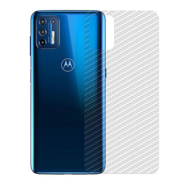 Película Traseira de Fibra de Carbono para Motorola Moto G9 Plus - Gshield