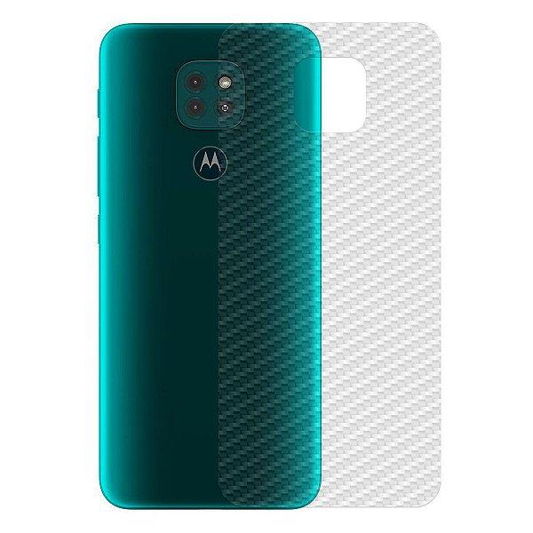Película Traseira de Fibra de Carbono para Motorola Moto G9 Play - Gshield