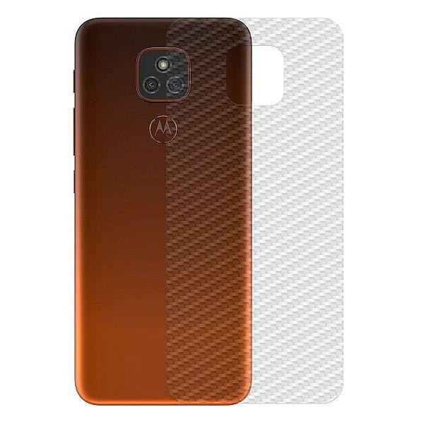 Película Traseira de Fibra de Carbono para Motorola Moto E7 Plus - Gshield