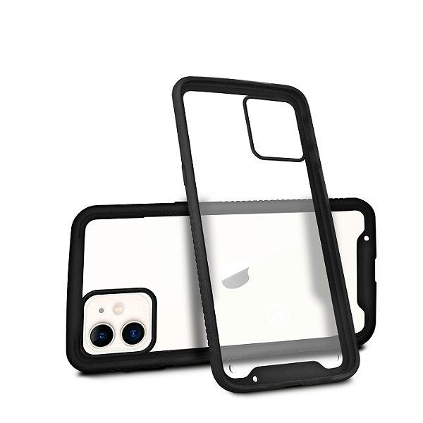 Capa Stronger Preta Para iPhone 12 - Gshield