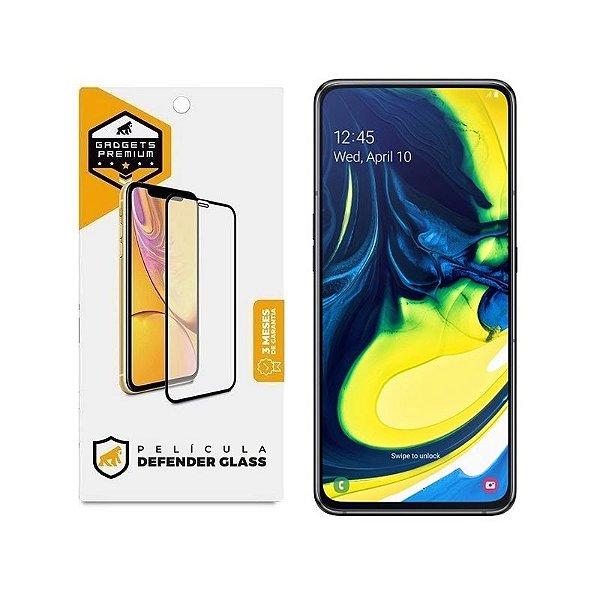 Película Defender Glass para Samsung Galaxy A90 - Preta - Gshield