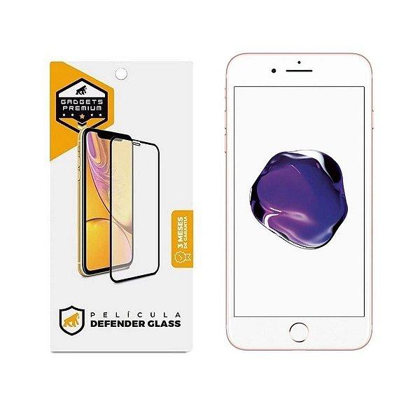 Película Defender Glass para iPhone 7, 8 e SE 2 - Branca - Gshield
