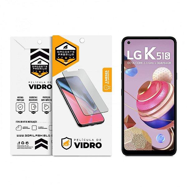 Película de Vidro Dupla para LG K51S - Gshield