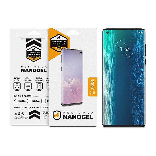 Película de Nano Gel Dupla Para Motorola Moto Edge Plus - Gshield