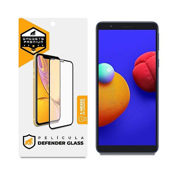 Película Defender Glass para Samsung Galaxy A01 Core e M01 Core - Preta - Gshield