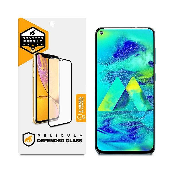Película Defender Glass para Samsung Galaxy M50S - Preta - Gshield