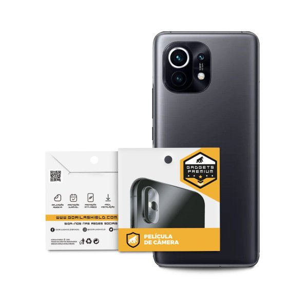 Película para Lente de Câmera para Xiaomi  Mi 11 - Gshield