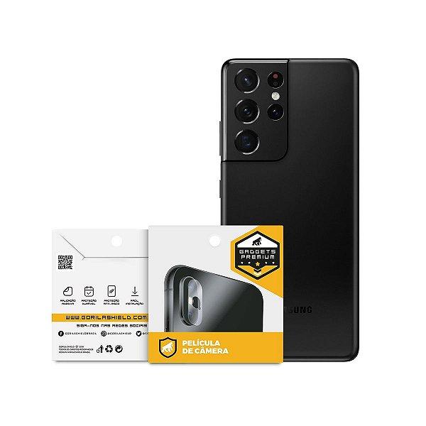 Película para Lente de Câmera para Samsung Galaxy S21 Ultra - Gshield