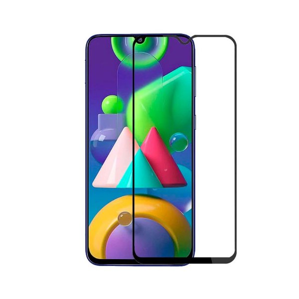 Película Coverage 5D Pro Preta para Samsung Galaxy M21 / M21S / M31 / F41 - Gshield