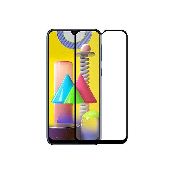 Película Coverage 5D Pro Preta para Samsung Galaxy M31 Prime - Gshield