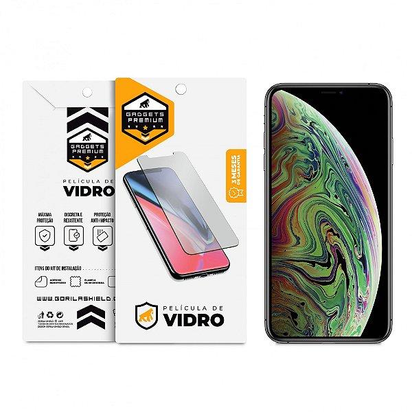 Película de Vidro Dupla para iPhone XS Max - Gshield