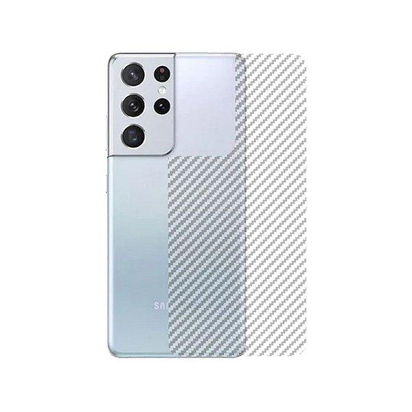 Película Traseira de Fibra de Carbono para Samsung S21 ultra - Gshield