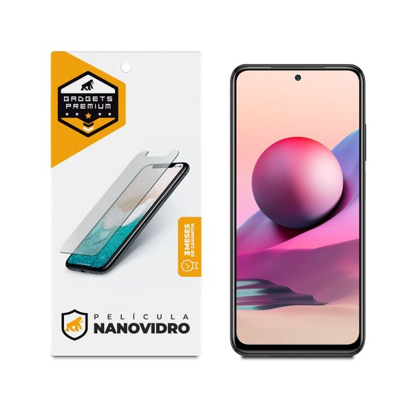 Película de Nano Vidro para Xiaomi Redmi Note 10 - Gshield