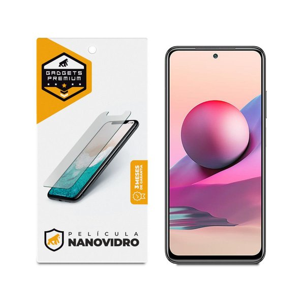 Película de Nano Vidro para Xiaomi Redmi Note 10S - Gshield