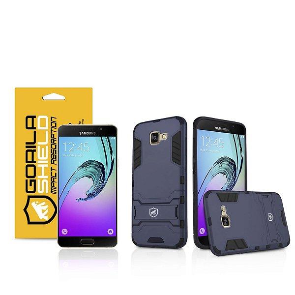Kit Capa Armor e Película de Vidro Dupla para Samsung Galaxy A7 2016 - Gorila Shield