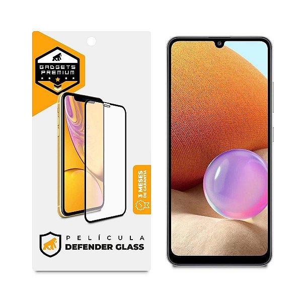 Película Defender Glass para Samsung Galaxy A32 - Preta - Gshield