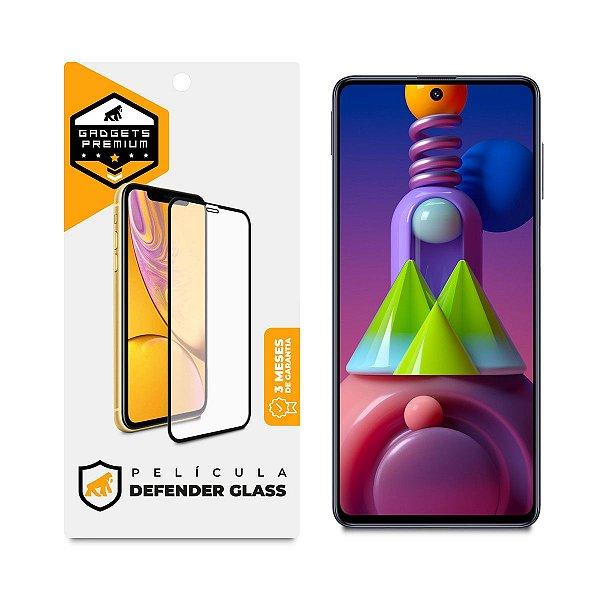 Película Defender Glass para Samsung Galaxy M51 - Preta - Gshield