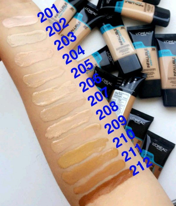 L'oreal Infallible Foundation Pro-Glow
