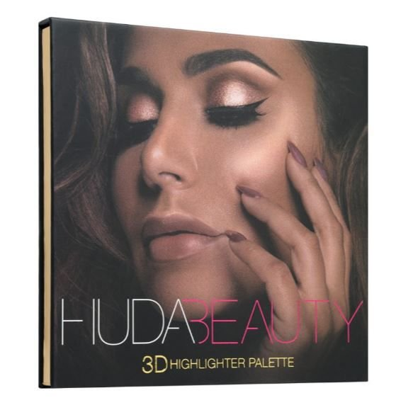 Huda 3D Highlighter Palette– GOLDEN SANDS