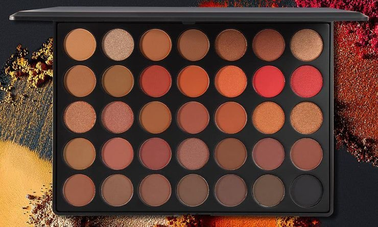 Morphe 35O2 - 35 Color Second Nature Eyeshadow Palette