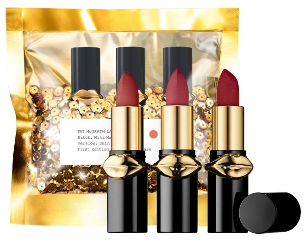 PAT MCGRATH LABS LUST: Mini MatteTrance Lipstick Skin Show Trio