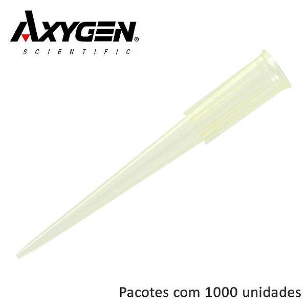 PONTEIRA 1 A 200UL AMARELA (LIVRE DE DNASE RNASE) 1000UN