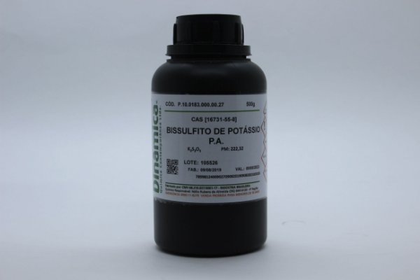BISSULFITO DE POTASSIO PA 500G