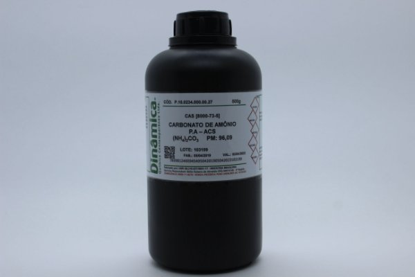 CARBONATO DE AMONIO PA 500G