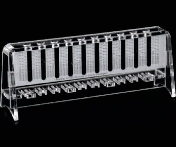 SUPORTE DE ACRILICO PARA 10 TUBOS WESTERGREEN (VHS)