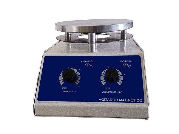 AGITADOR MAGNETICO COM AQUECIMENTO 12L 2000RPM 220V
