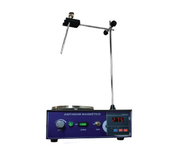 AGITADOR MAGNETICO COM AQUECIMENTO 4L 2400RPM 110V