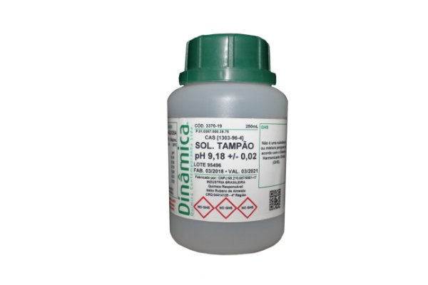 SOLUCAO TAMPAO PH 9,18 250ML