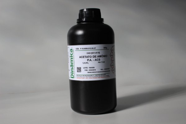 ACETATO DE AMONIO PA ACS 500G