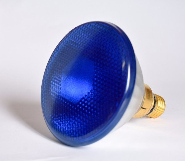 Lâmpada Halógena PAR 38 120V 85W Azul